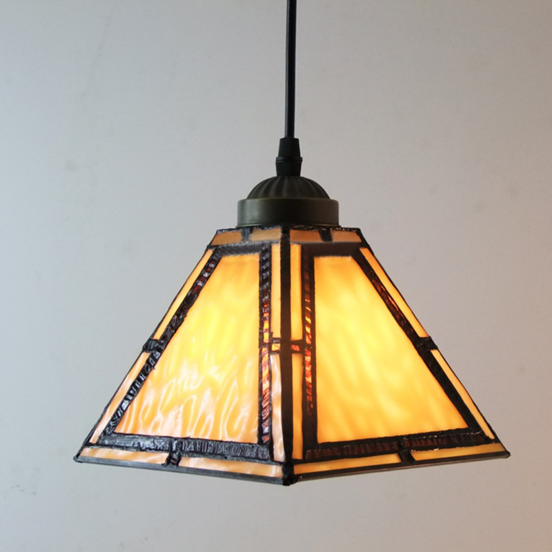 Details About Tiffany Mission Style Pendant Light Stained Gl Shade Hanging Ceiling Lamp