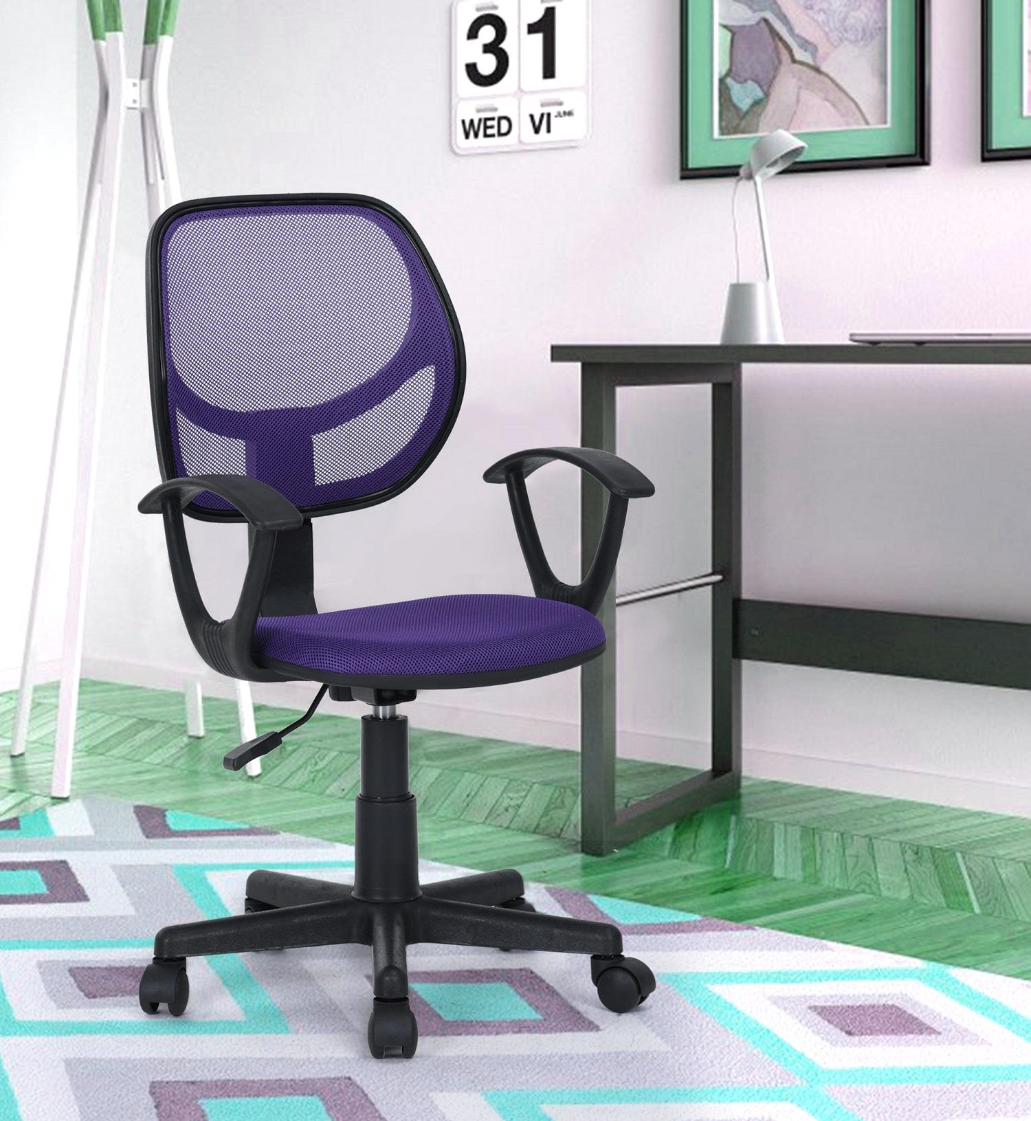 Kids Best Gift Children puter PC Chair Swivel fice Task Desk