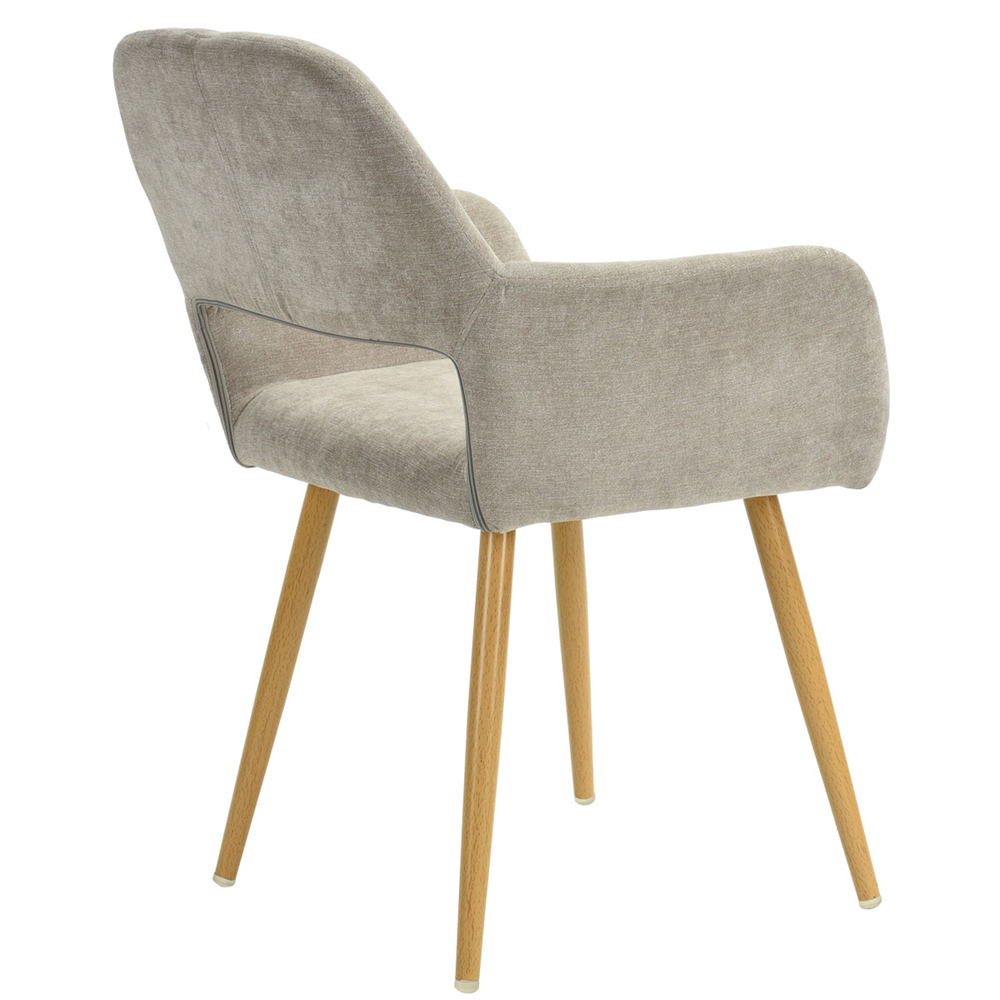 peluche chaise de salle manger coussin jambes m talliques caf chaise ebay. Black Bedroom Furniture Sets. Home Design Ideas