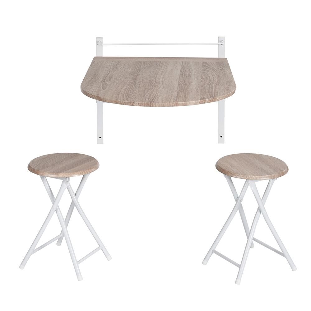 Wall Mounted Drop Leaf Portable Folding Dining Space