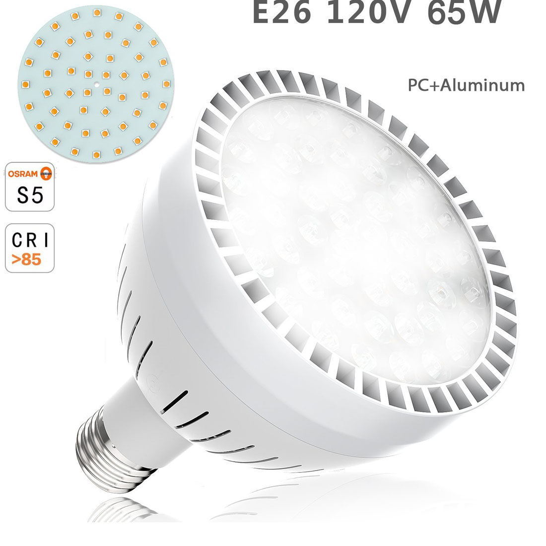 120v 65w Swimming Pool Spa Led Waterproof Light Replacement E26 Base Bulb Lamp Ebay