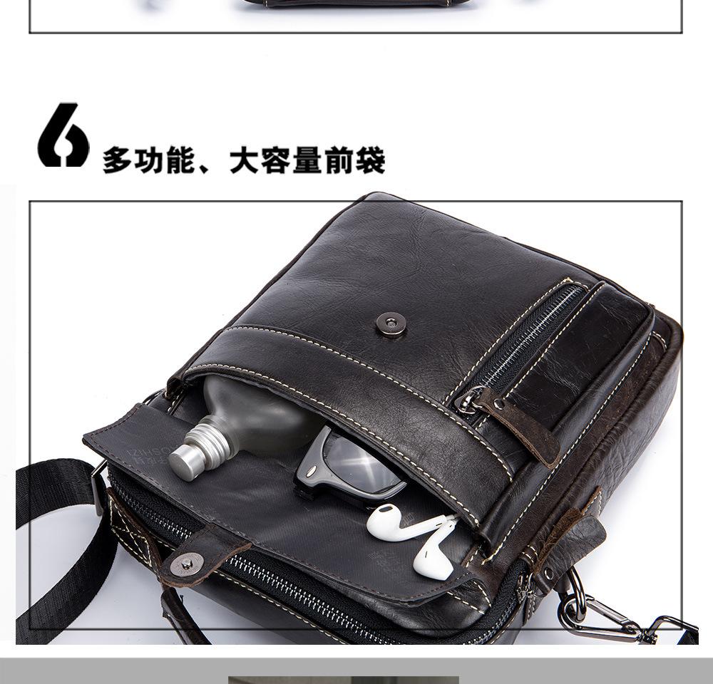 Vintage Men/'s Lion Satchel Hi-Q Real Leather Cross Body Messenger Shoulder Bag