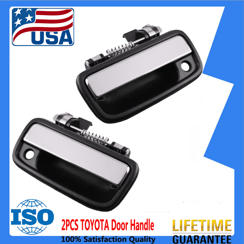Chrome Outside Exterior Door Handle RH Right Front for Super Duty Pickup Truck