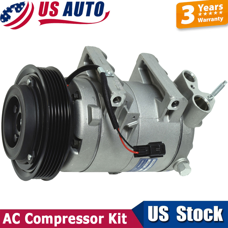 New CO 11200C 92610JM01C UAC A//C Compressor - 2008-2013 Rogue L4 2.5L