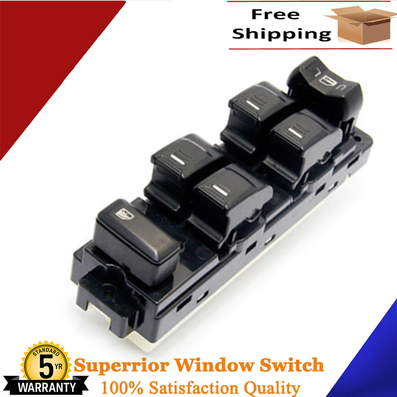 Fits Chevy Colorado Power Window Master Switch fits GMC Canyon 2004 to 2012 25779767 with White Backlight