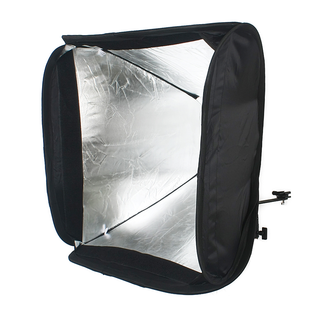 Local Universal Flash Softbox 20x30cm Canon Nikon Nissin Viltrox 20pc Strobist Color Gel For Speedlight Diffuser 2x 24 60cm Soft Box Speedlite Light Stand Kit