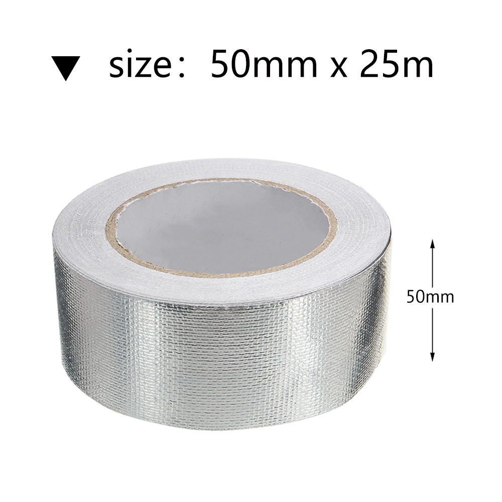 Foil Aluminium Insulation Heating Duct Tape Heat Shield