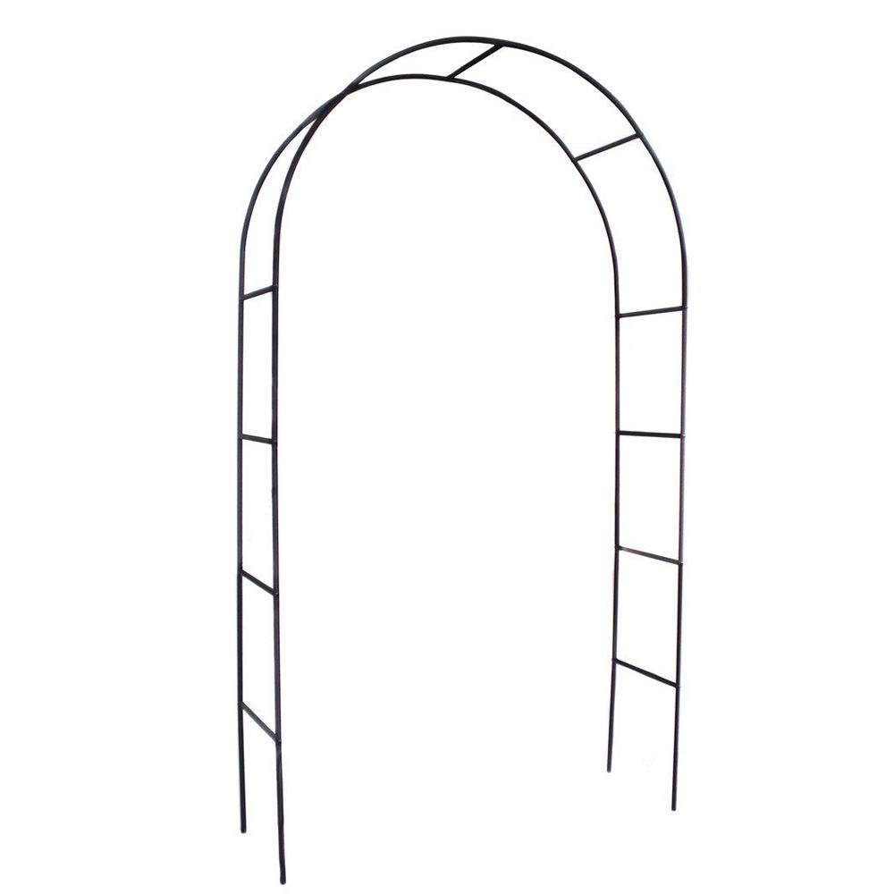 2.4M Garden Arch Wedding Arch Garden Climbing Frame Arches Steel ...