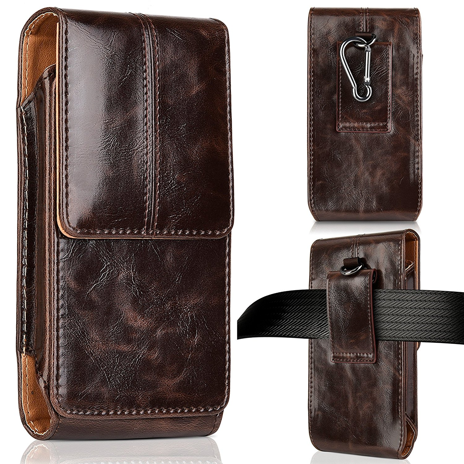 check out a6a4f 1bf47 New For Apple iPhone X 8 7 6 6S PLUS Leather Case Cover Holster Belt ...