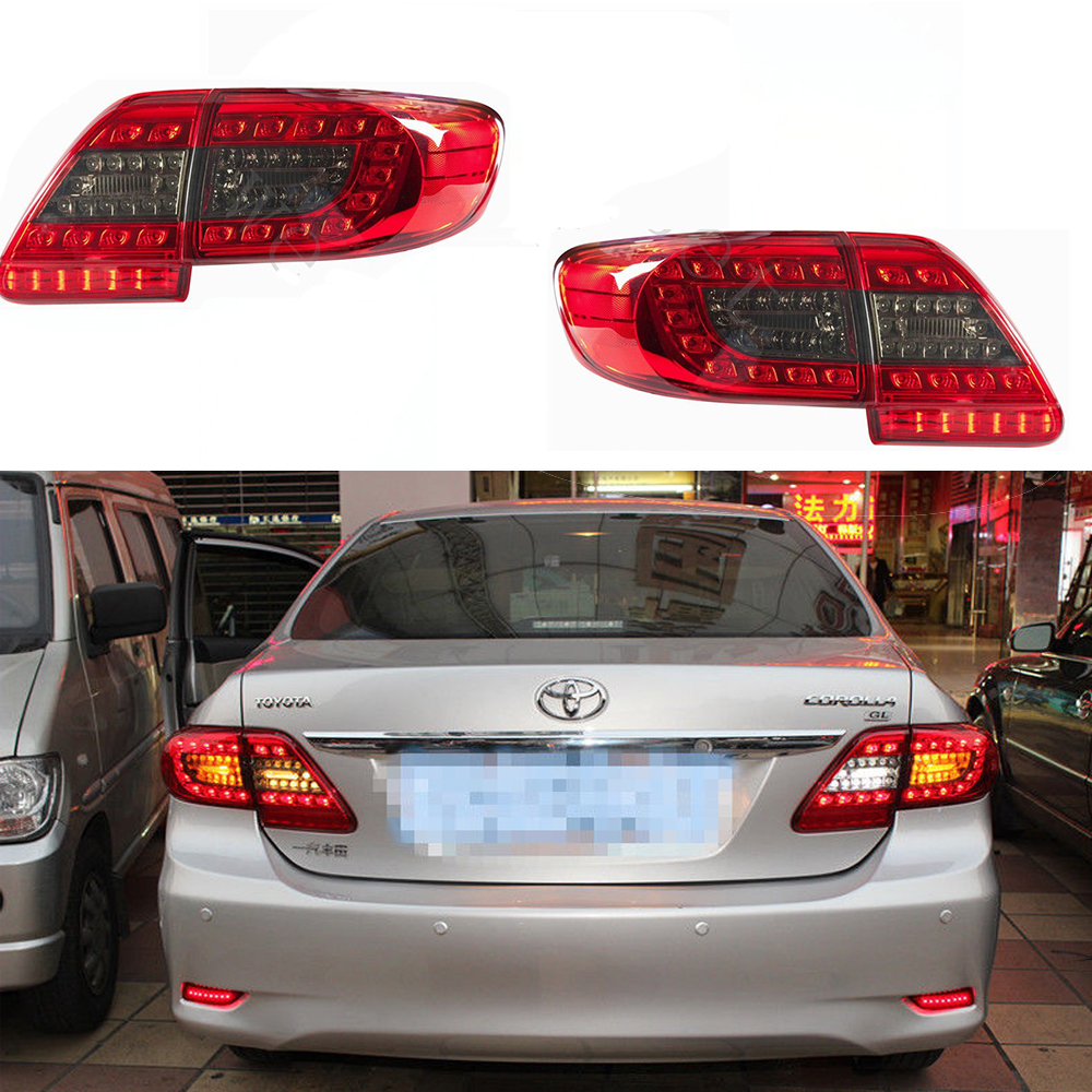 Led tail lights 2011 2013 toyota corolla altis lamps rear signal led tail lights 2011 2013 toyota corolla altis lamps rear signal strip red black mozeypictures Choice Image