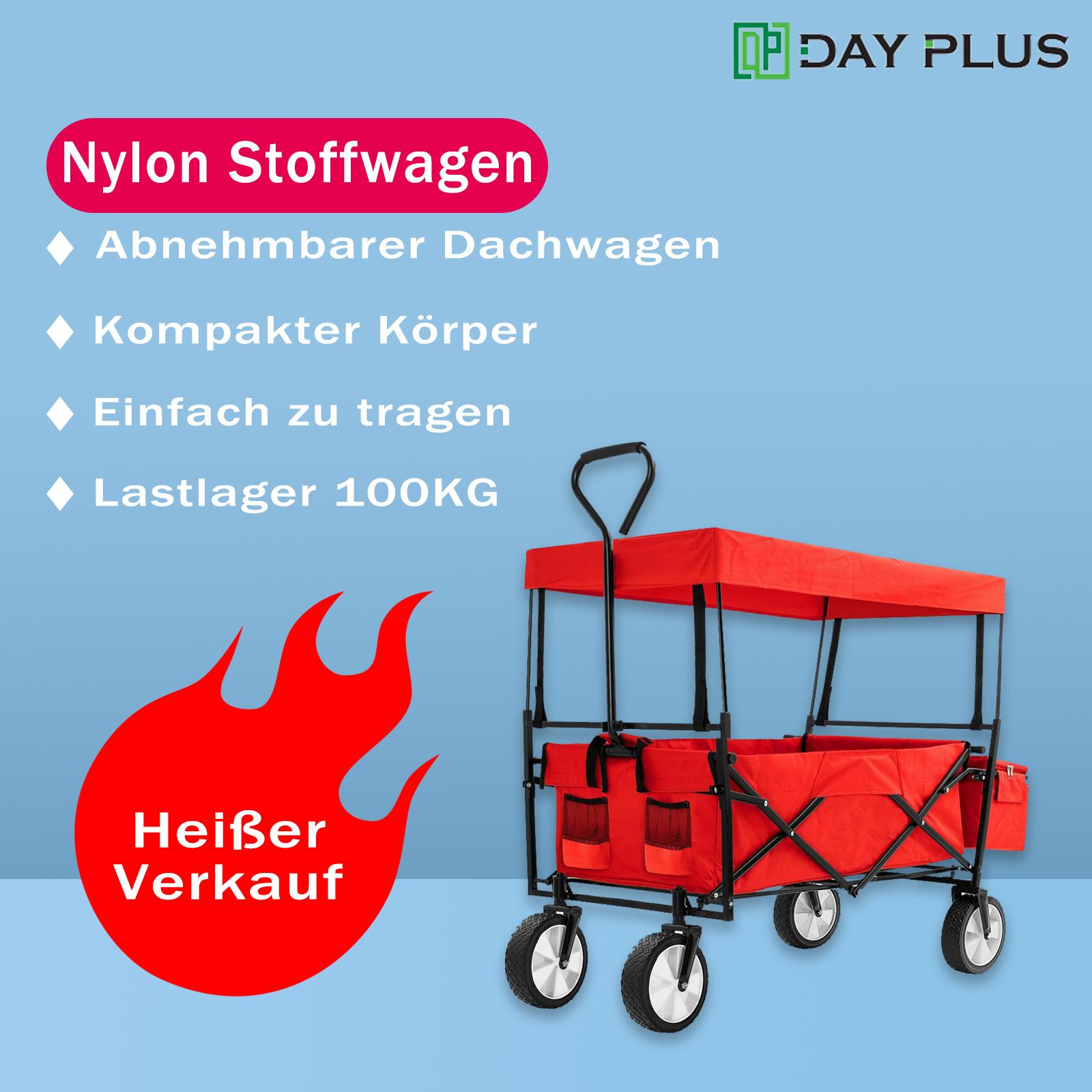 Transportkarre faltbar Bollerwagen Handwagen Gerätewagen klappbar Gartenwagen !!