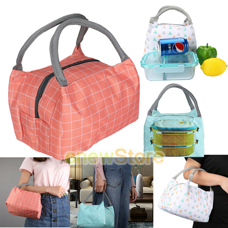 Details about Insulated Lunch Bags For Women Teens Girls Tall Cute Bag Meal  Prep LARGE Freezab