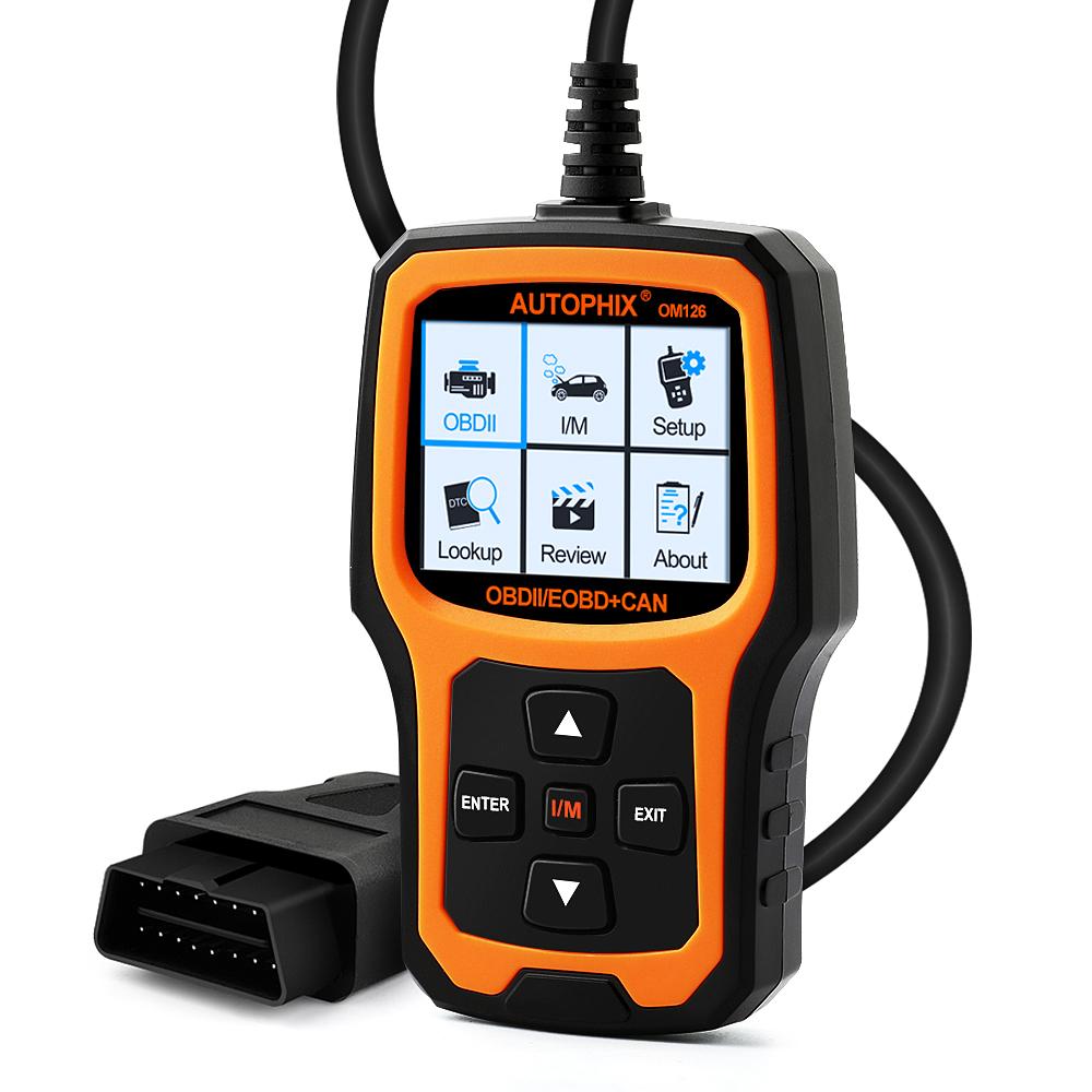 Details about OM126 Check Engine Light OBD2 Scanner Code Reader O2 Sensor  Test Diagnostic Tool