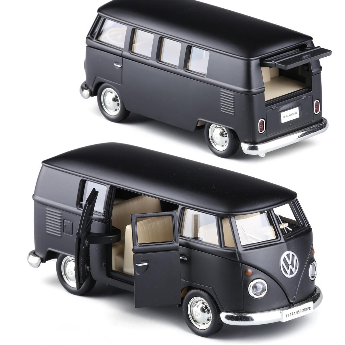 Volkswagen Van T1 Micro Model Bus 5'' Toys 1:36 Gifts