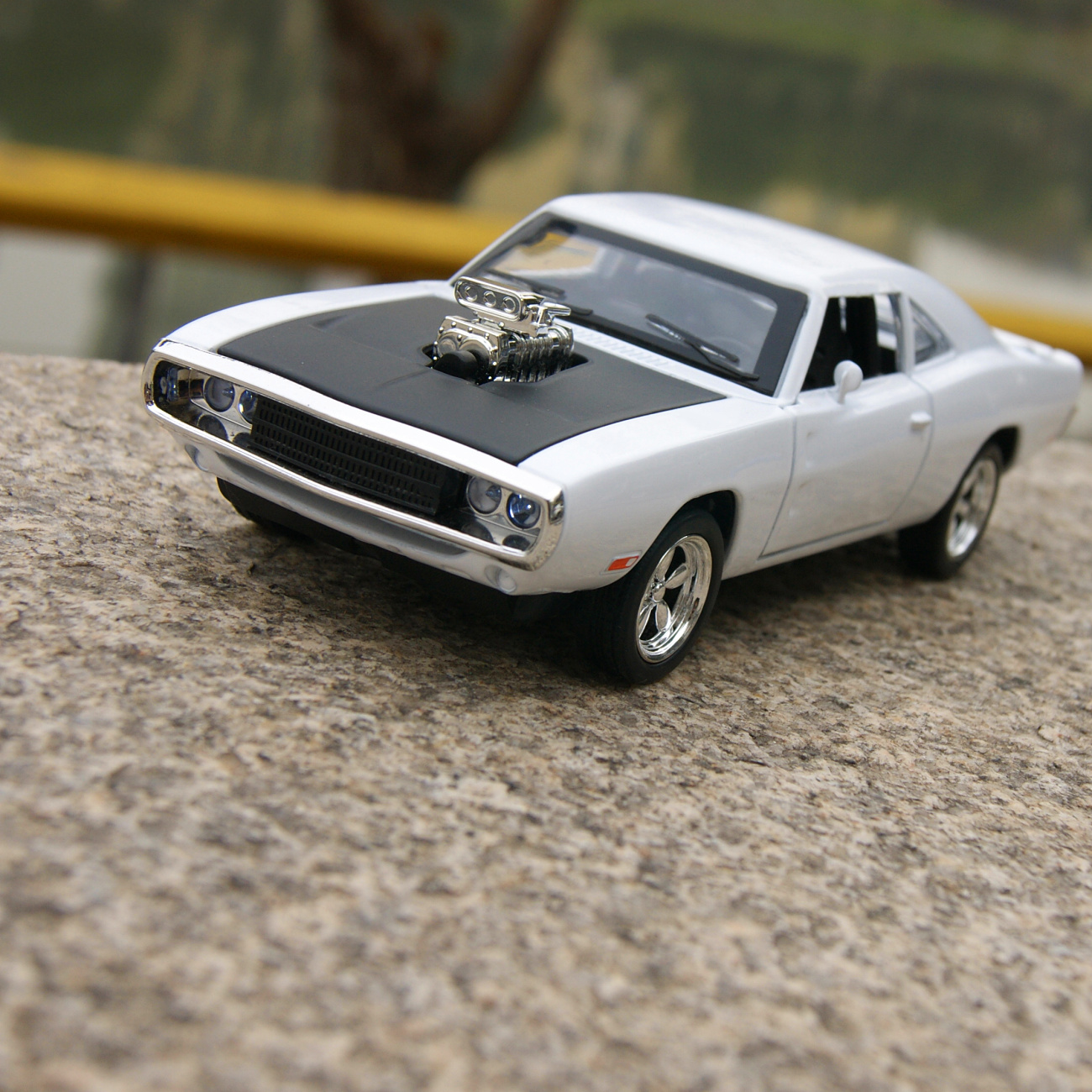 1970 DODGE CHARGER 1:32 MUSCLE Car Model Alloy Diecast THE