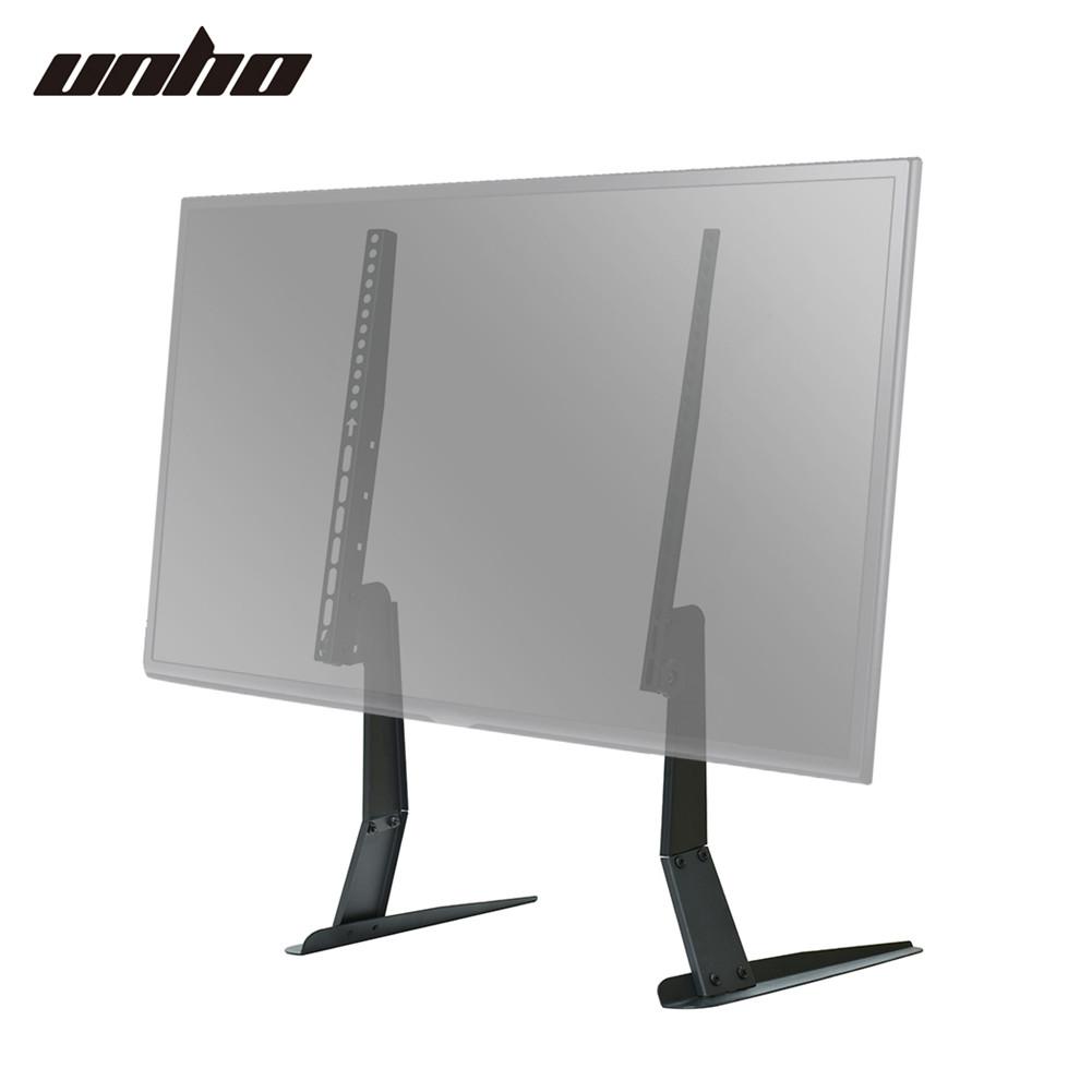 universal table top pedestal tv stand monitor riser fits. Black Bedroom Furniture Sets. Home Design Ideas