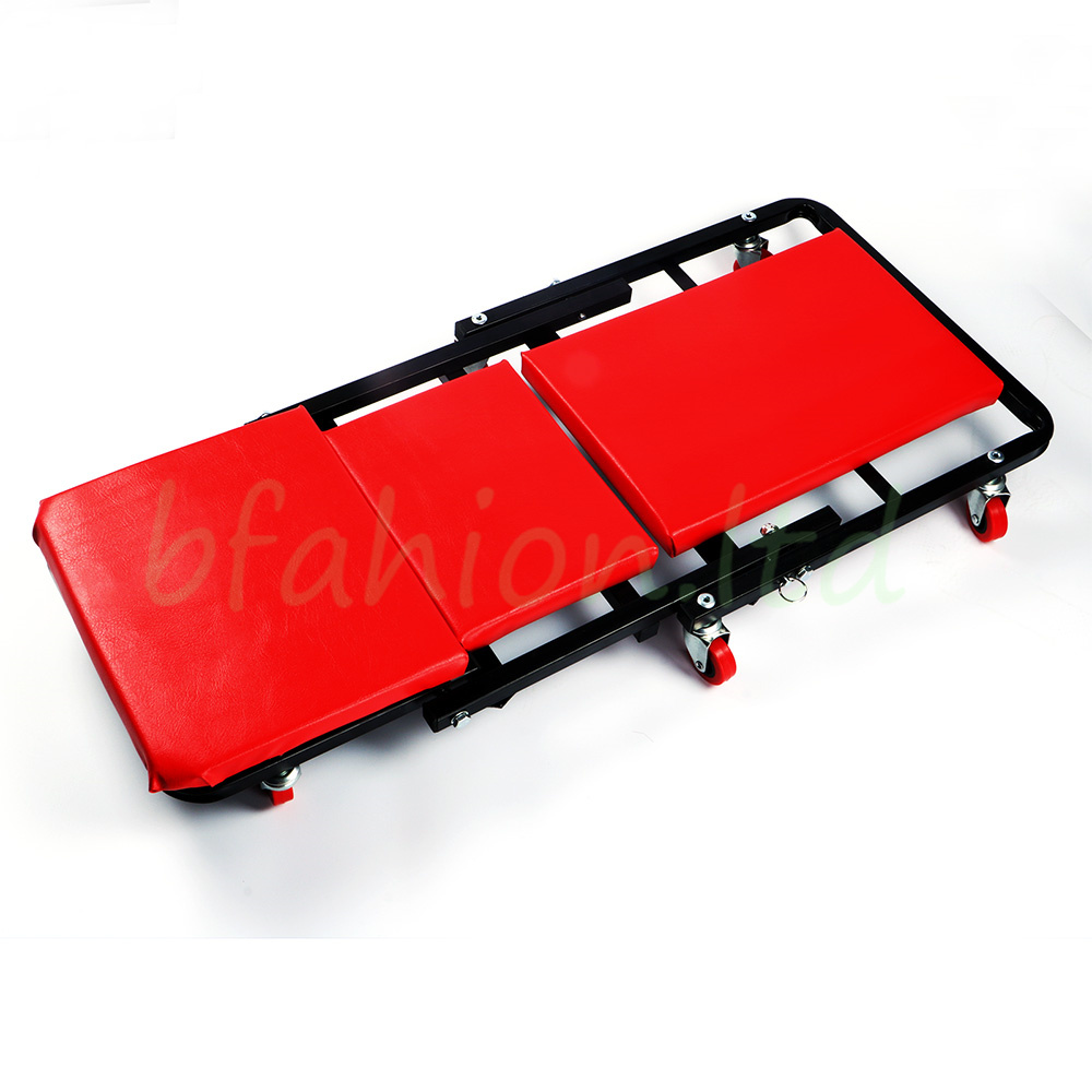 2 In 1 Mechanics Garage Car Workshop Folding Creeper Wheeled Stool Seat Trolley  sc 1 st  eBay & 2 In 1 Mechanics Garage Car Workshop Folding Creeper Wheeled Stool ... islam-shia.org