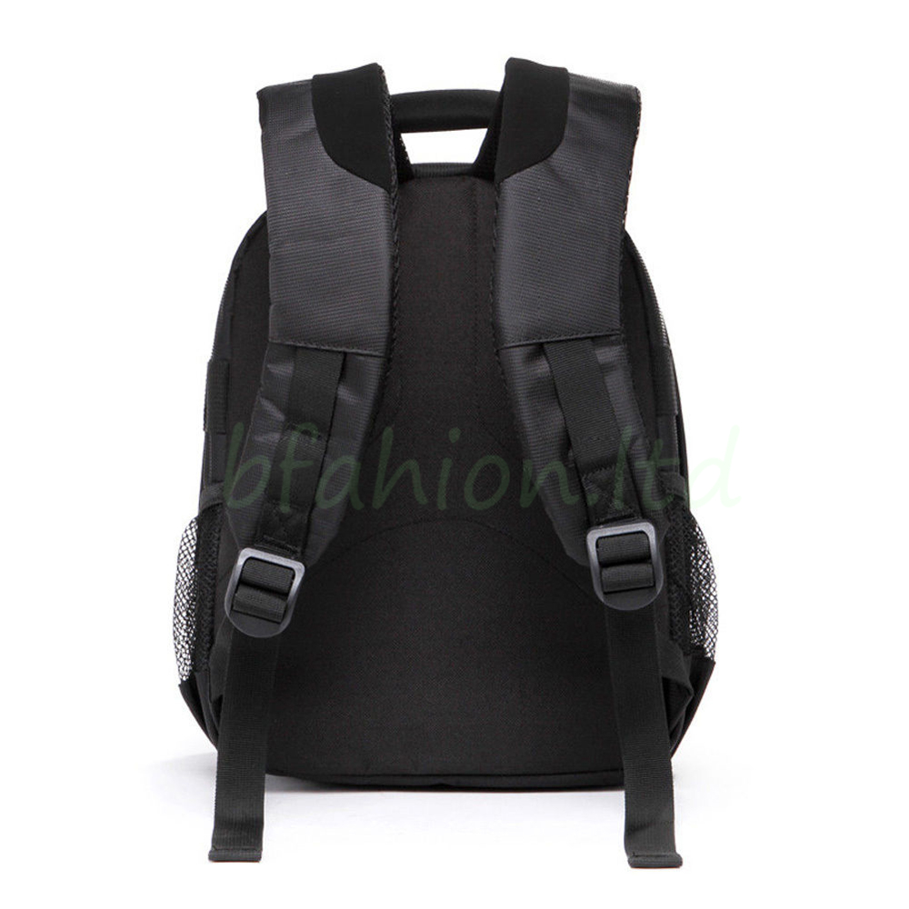 Waterproof Camera Backpack Bag Lens Case Rucksack For DSLR SLR Canon EOS Nikon 5