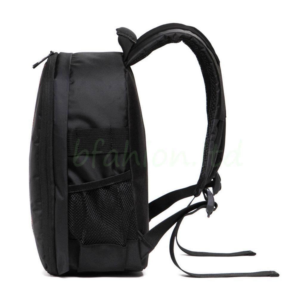 Waterproof Camera Backpack Bag Lens Case Rucksack For DSLR SLR Canon EOS Nikon 6
