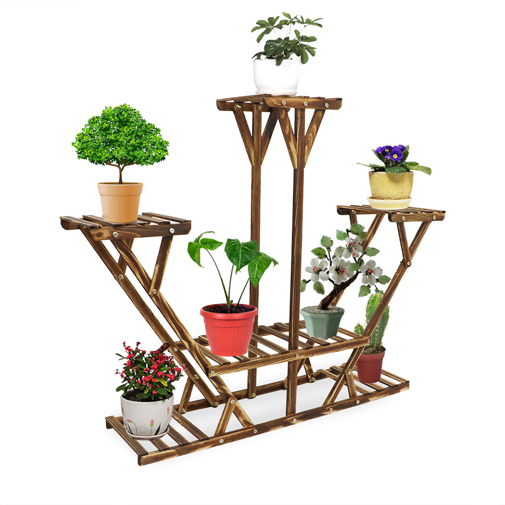 outdoor plant stands wooden plant stand garden planter flower pots bonsai stand 11136