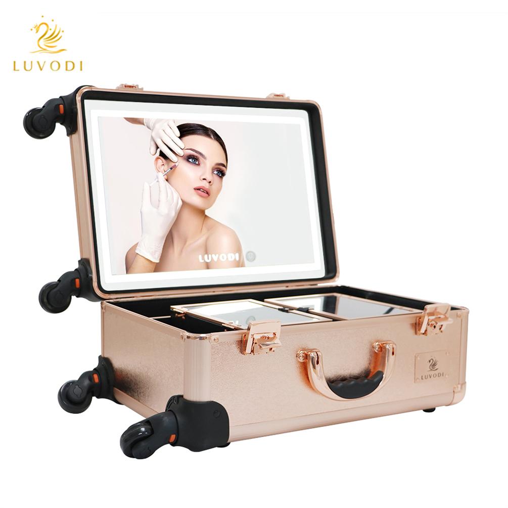 ... rose gold mini studio togo cosmetic makeup case vanity box with ...
