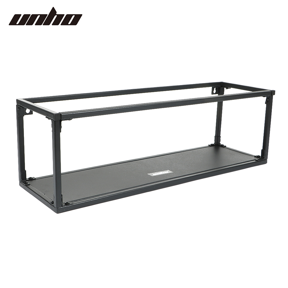 3 Rectangle Wall Unit Retro Metal Wire Shelf Rack Storage Kitchen ...