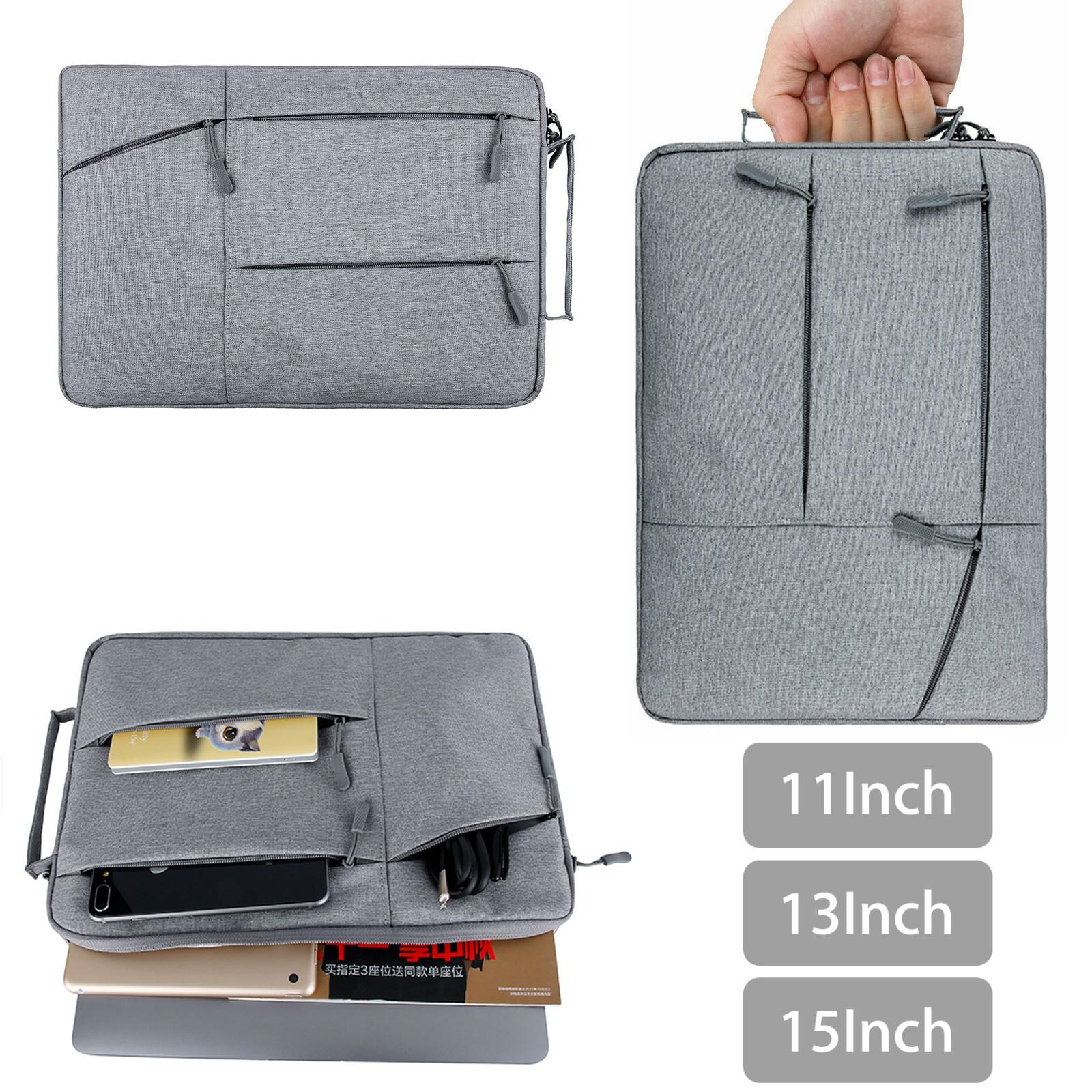"11/"" 13/"" 15inch Laptop Notebook Handbag Sleeve Case Cover Bag For MacBook Air Pro"