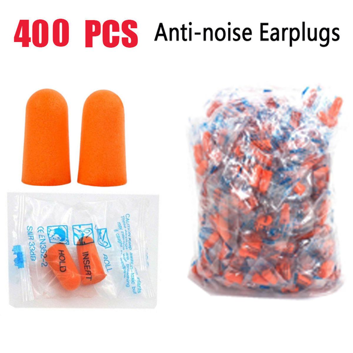 earplugs Ear Plugs Lot Bulk soft Orange foam sleep travel noise shooting