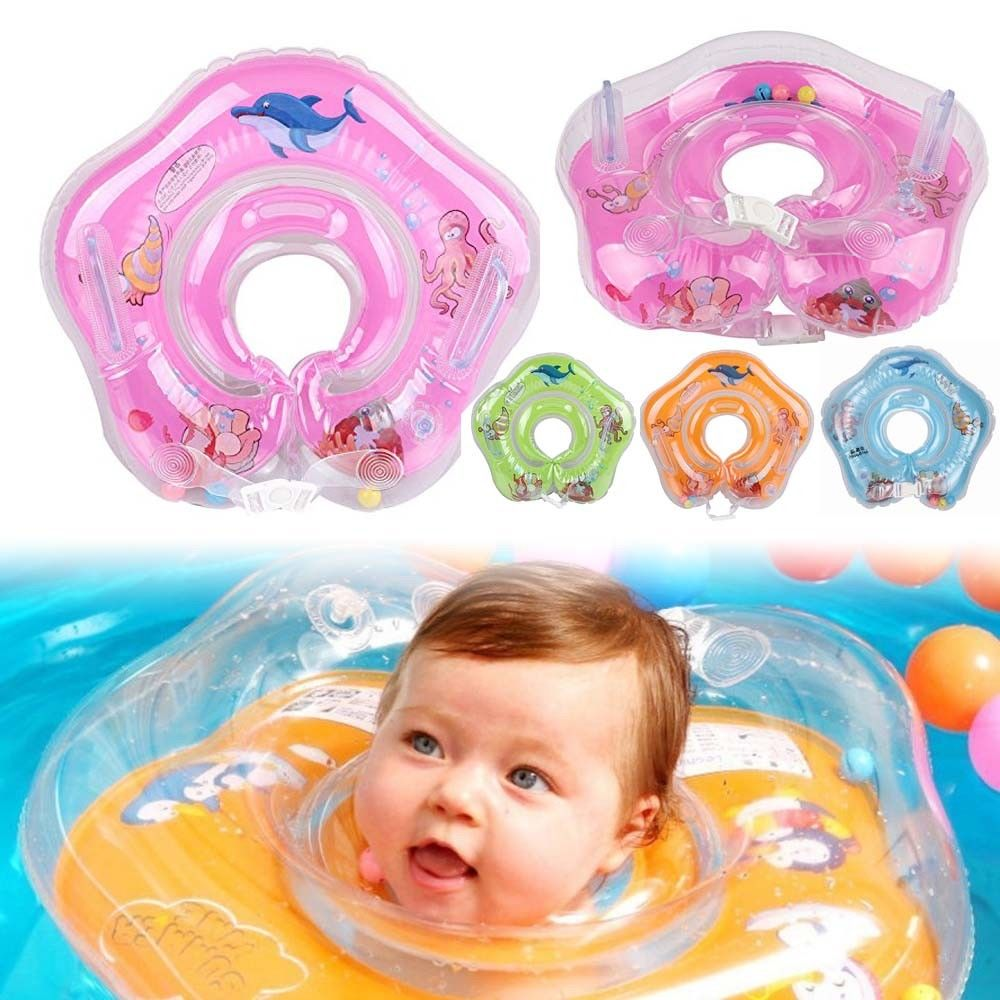 Swimming Neck Float Inflatable Ring Safety FOR Newborn Baby Infant ...