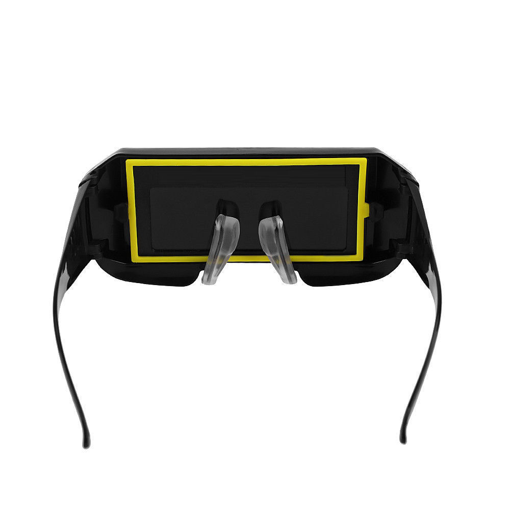 Solar Powered Auto Darkening Welding Eyes Goggle Welding Blinkers Welder Glasses