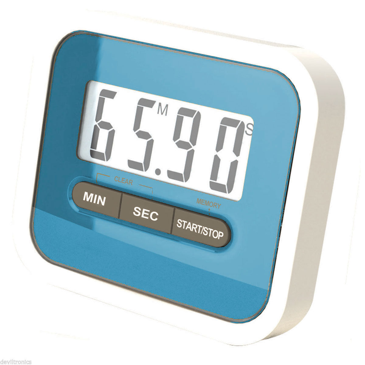 Digital Kitchen Timer Magnetic Cooking Baking LCD Large Count Down ...