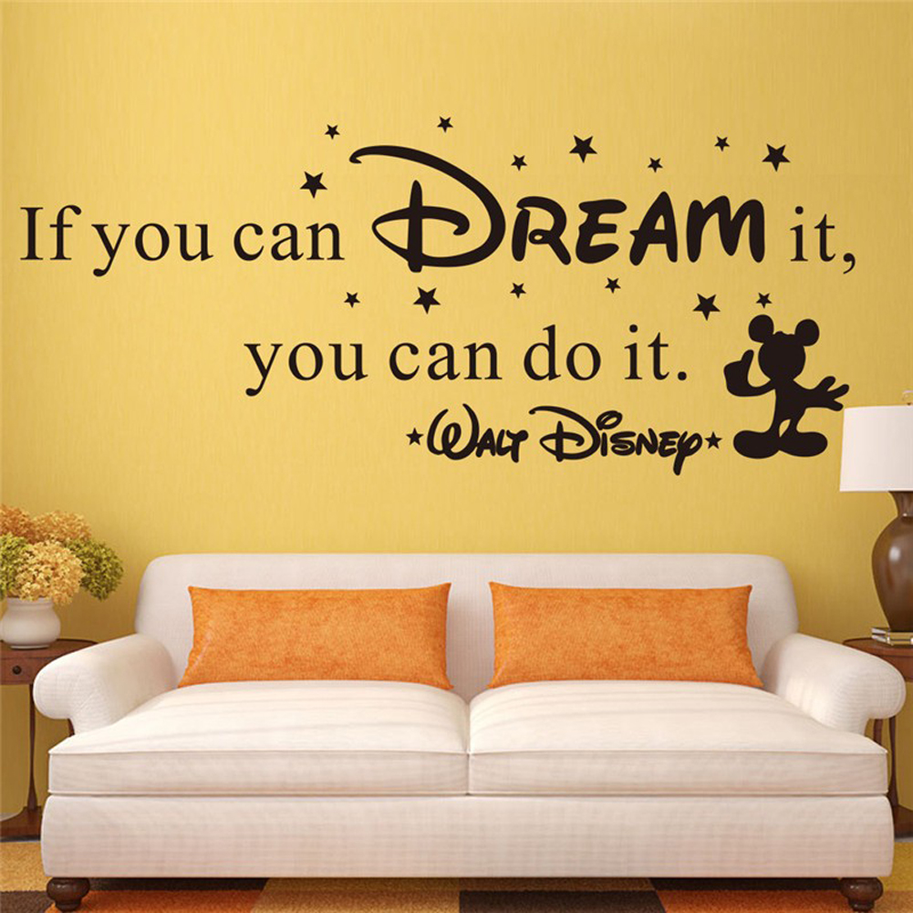 If You Can Dream It You Can Do It Vinyl Art Wall Sticker Decals Word ...