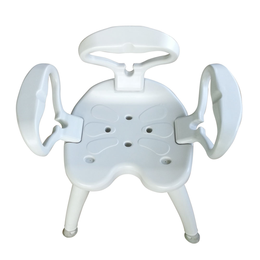 Portable Bath Chair Bench Stool Tub Shower Seat w/Detachable 440lbs ...