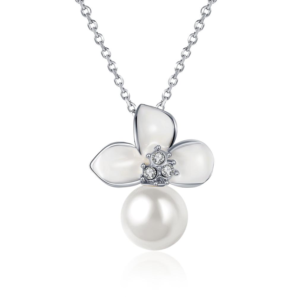 Fashion-Pearl-Crystal-Choker-Statement-Bib-Chain-Necklace-Pendant-Jewelry-Gifts
