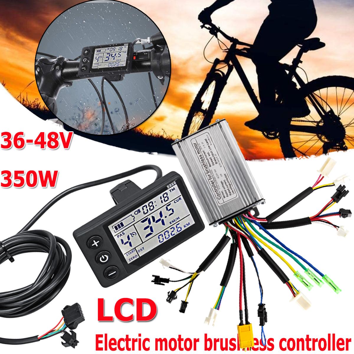 350W 36V//48V E-Bike Steuergerät E-Scooter Fahrrad Motor Brushless Controller H