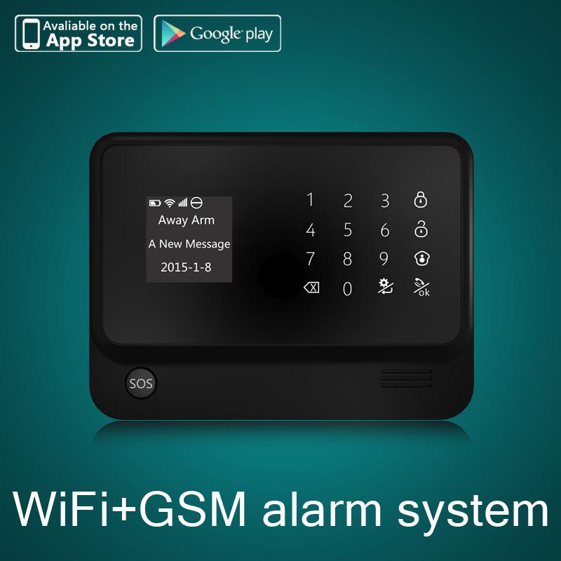 Diy G90b Wifi Gsm Sms Home House Burglar Alarm System