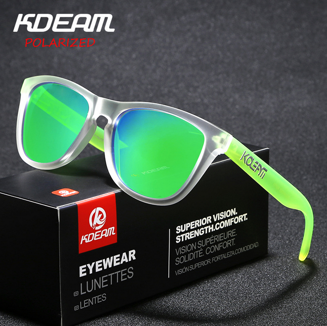 5a1e7345871 Details about Kdeam Men Polarized Sport TR90 Sunglasses Women Outdoor  Driving Party Eyewear