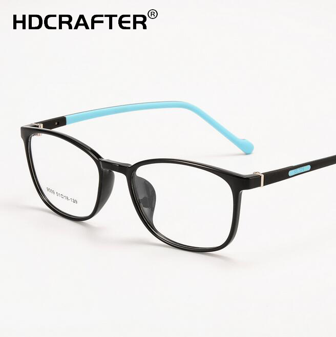 719cfe390dd Unisex TR90 Full Frame Myopia Glasses Frame Fashion Student Optical Eyewear  New