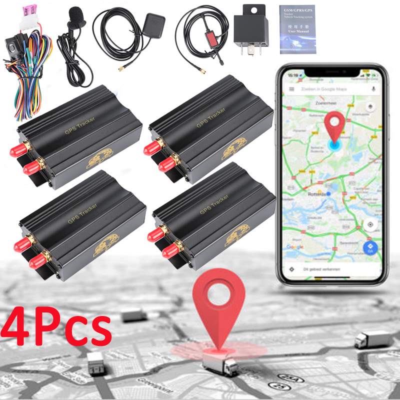 Lot4 TK103A Car GPS SMS GPRS Tracker Vehicle Real Time Tracking Device System US
