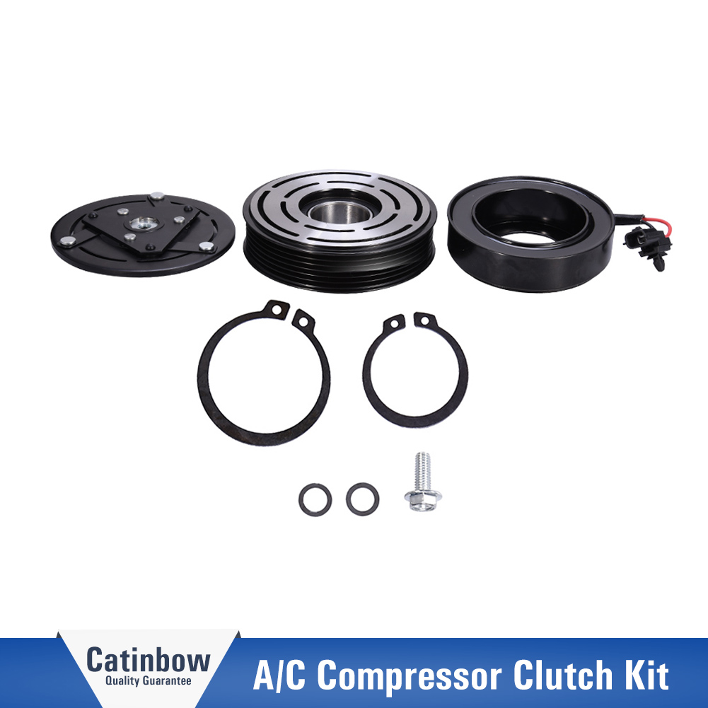 New A//C Compressor Clutch Assembly Kit For Nissan Altima Sentra 2007-2012 2.5L