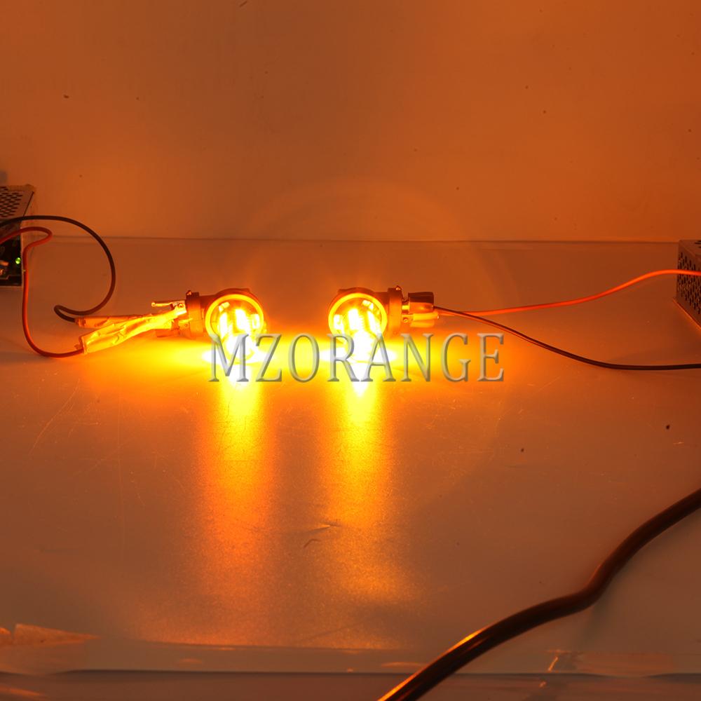 Led Fog Light For Toyota Venza 2009 2015 Clear Lens Blubs
