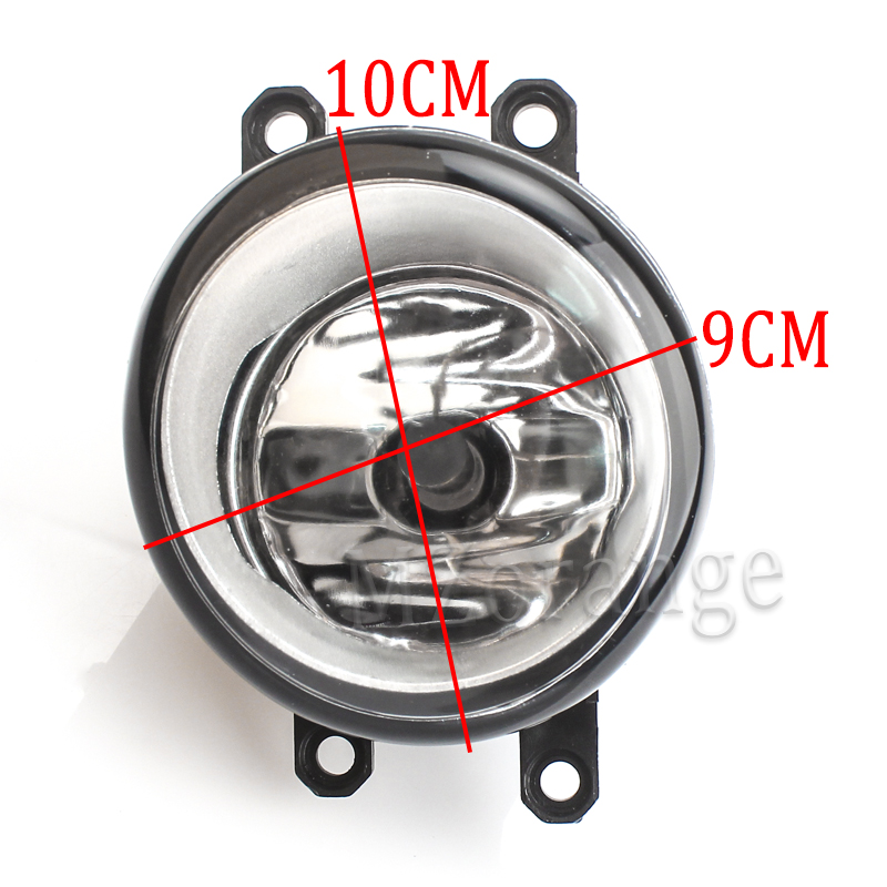 2x For Toyota Venza 2009 2015 Clear Replacement Fog Light