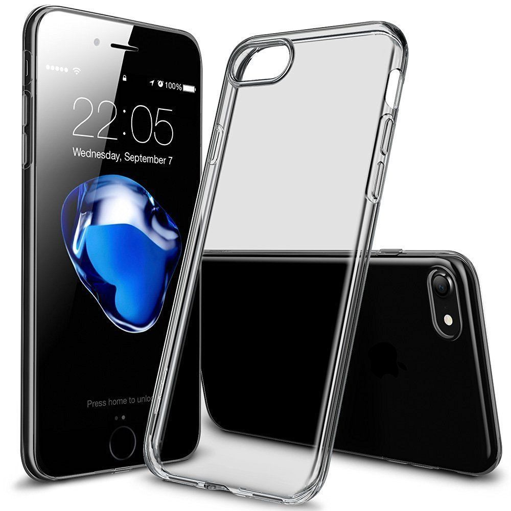 a95c569fa39 0.8MM Transparent Crystal Clear Soft TPU Case Skin Cover For iPhone 6 7 8  XS XR