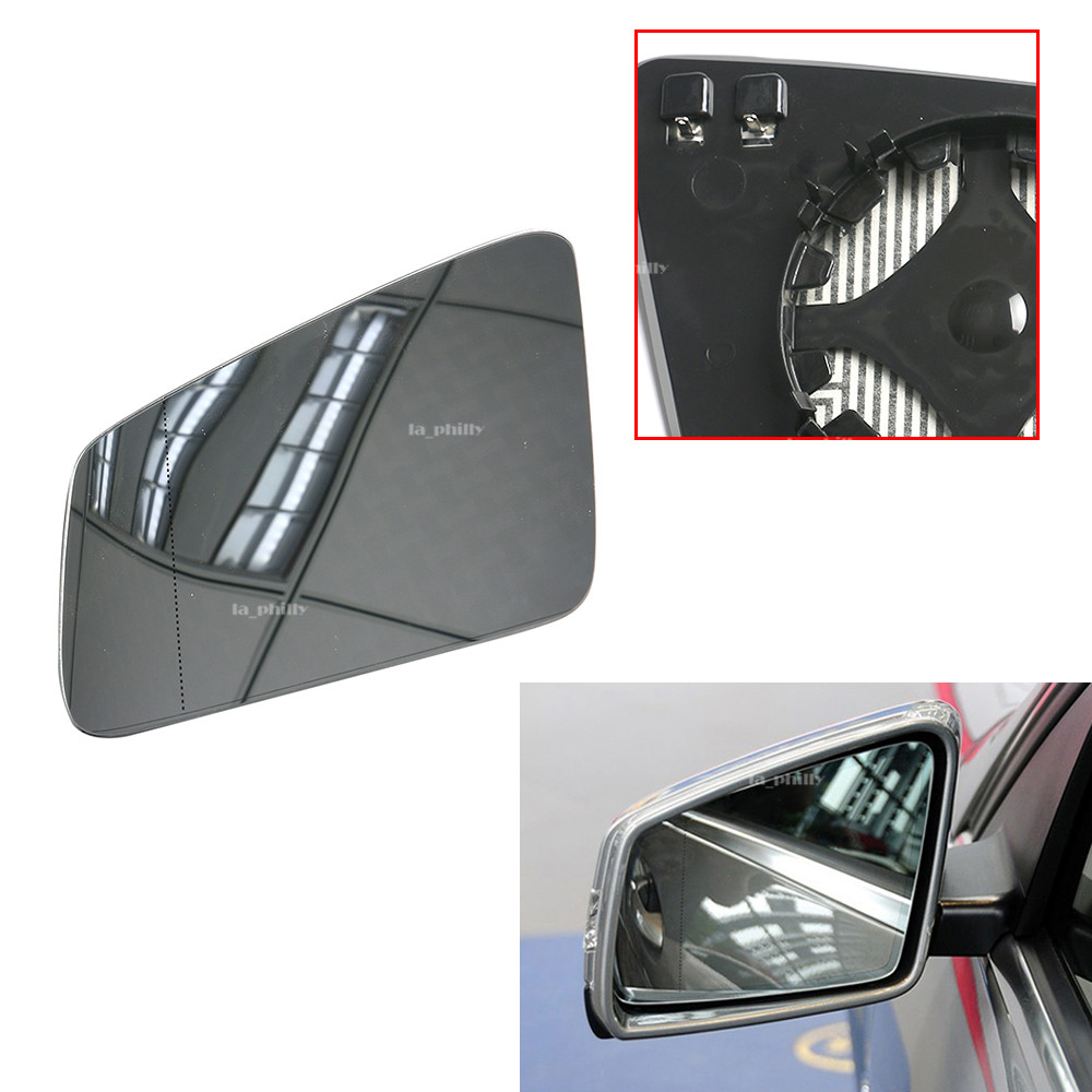 For Mercedes-BENZ C//E//S//GLK//CL//CLS W204 W212 W221 Heated Mirror Glass Right Side