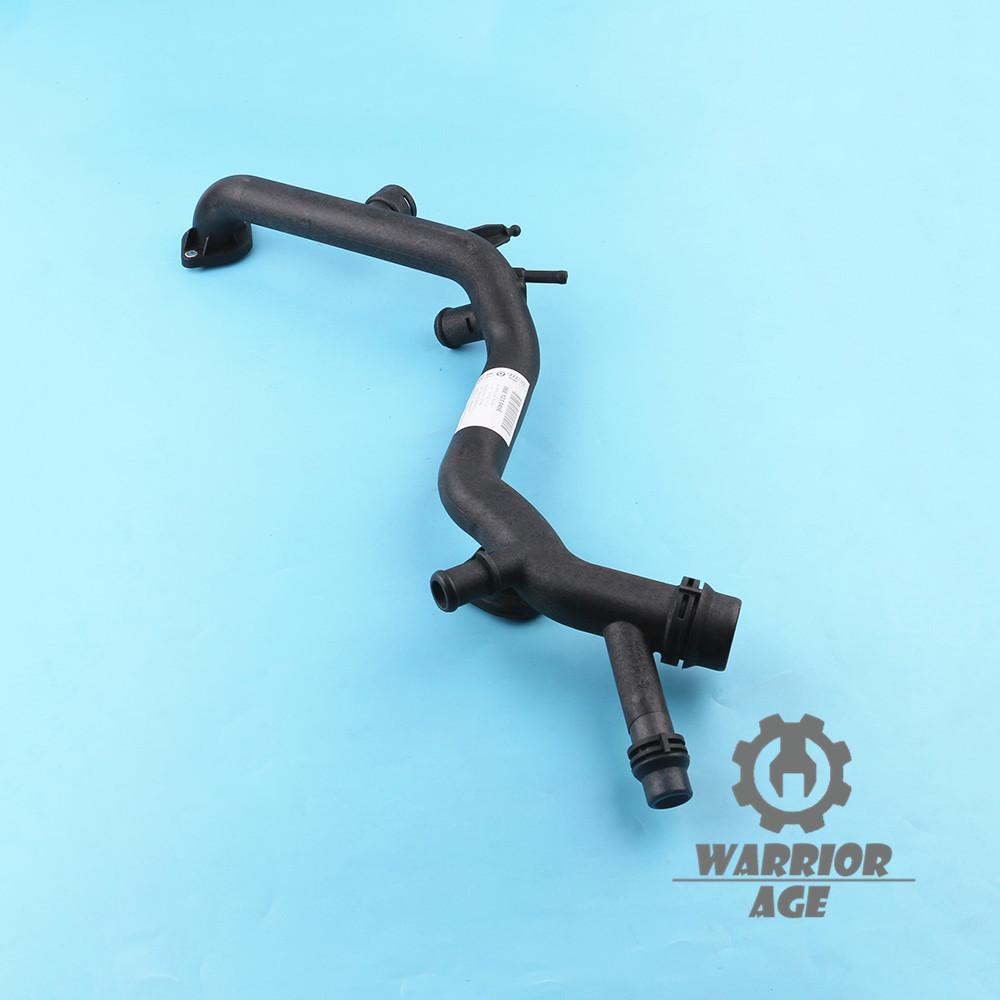 Coolant Radiator Pipe Water Hose 06e121045e For Audi A4 B7 A6 C6 Quattro 3 2l Ebay