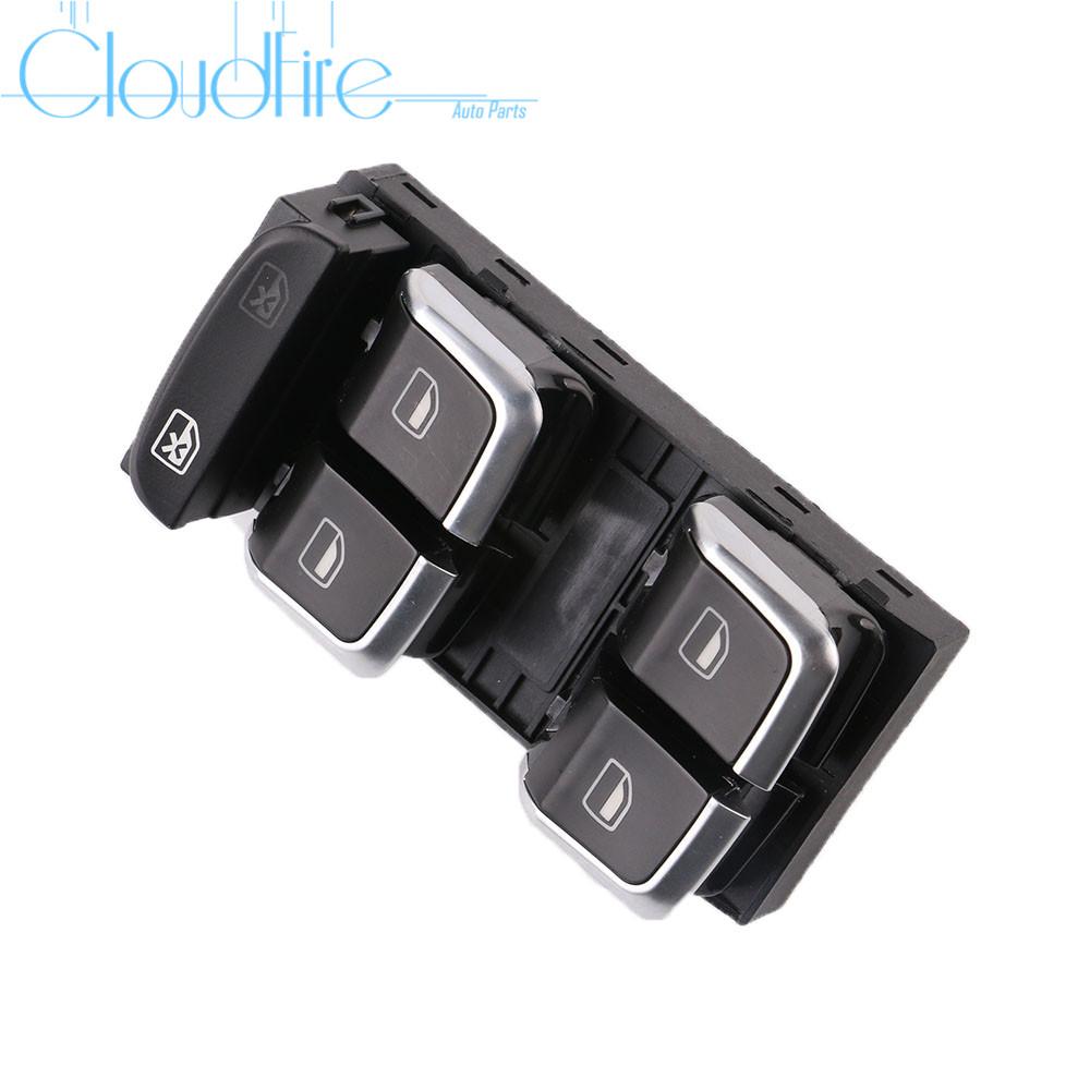Fensterheberschalter für 8K0959851F 8KD959851A Audi A4 8K S4 A5 8T S5 Q5 S-line