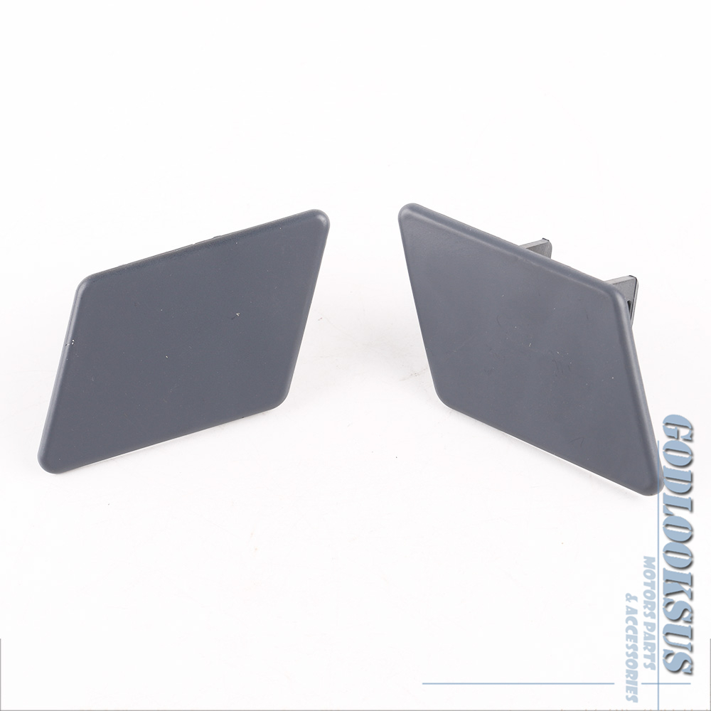 Headlight Washer Nozzle Covers For BMW X3 F25 PRIMED Left Right New Pair 2