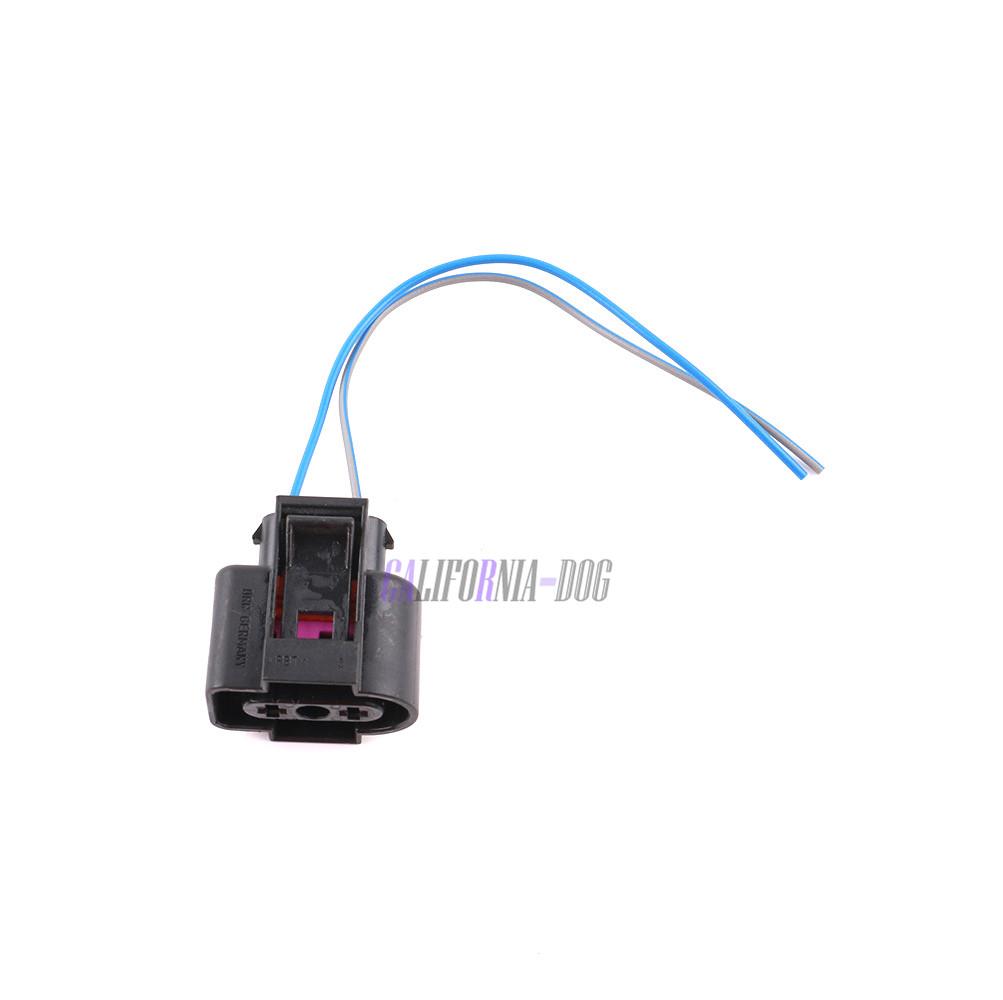 Washer Fluid Sensor 2 Pin Plug W Pigtail For Vw Golf Passat Audi 2012 Jetta Tdi Fuse Diagram Fluwed Skoda Seat New