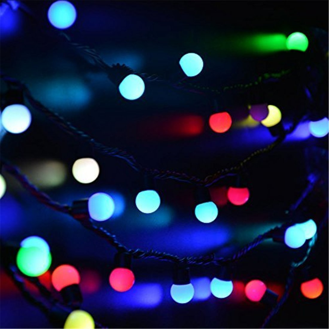 16.4ft Waterproof LED Light Curtain Fairy for Wedding Party Decorative Lights US