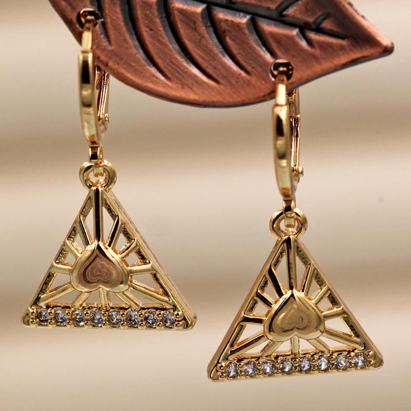 18K Gold Filled Earrings 3D Butterfly Topaz Clear Zircon Ear Hoop Stud Pageant